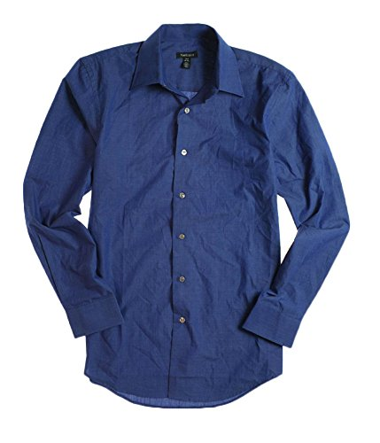 Van-Heusen-Mens-Cvc-Bc-Fcy-Button-Up-Shirt