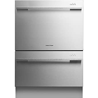 """Fisher Paykel DD24DDFTX7 DishDrawer Tall 24"""" Stainless Steel Semi-Integrated Dishwasher - Energy Star"""