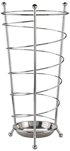 zeller-present-13020-chromed-metal-umbrella-stand