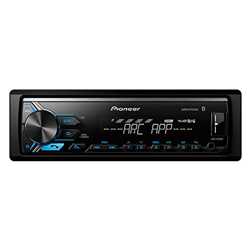 Pioneer MVH-X390BT Vehicle Digital Media Receiver with Pioneer ARC app compatibility,Built-in Bluetooth and USB Direct Control for iPod/iPhone and Certain Android Phones, Black