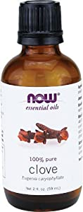 NOW Foods Clove Oil 2 ounce (Pack of 2)