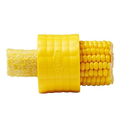 Chef'n Cob Corn Stripper, Yellow (Corn Silk Remover compare prices)