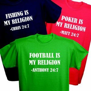Personalized My Religion T-Shirt