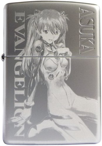 EVANGELION 貞本義行Zippo TYPE-ASUKA