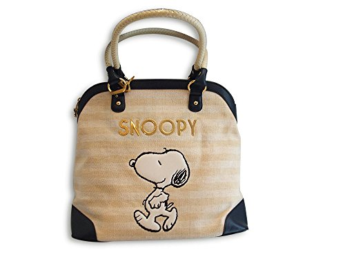 Borsa Donna Fix Design SNOOPY Beige/Blu
