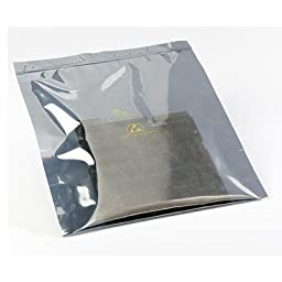 SCS 2100R Series Translucent Metal-Out Bag 21058 - 8 in Length - 5 in Wide - 3.2 mil Thick [PRICE is per PACK]