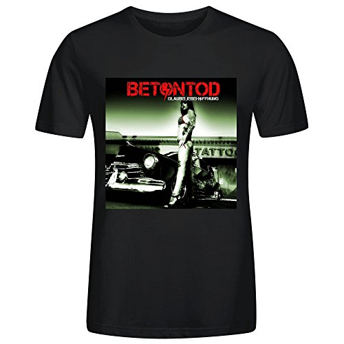 Betontod Glaubeliebehoffnung Cool Mens T-Shirt Black (Odd Job Mixer compare prices)