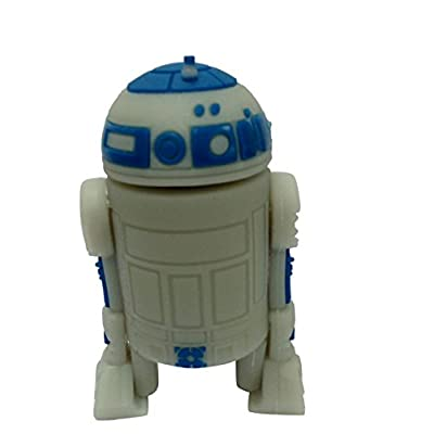Hitkart USB Flash Drive New Style Star Wars R2D2 P30-8GB Storage Device USB 2.0 or Higher
