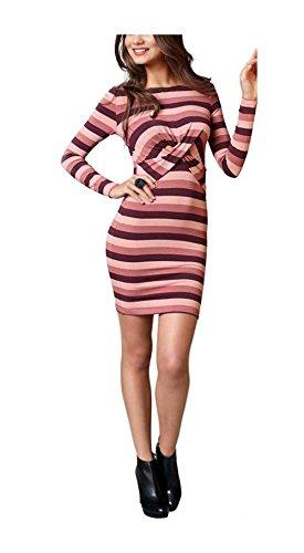 donna-vestito-abito-con-drappeggi-colorato-multicolore-taglia-36-38