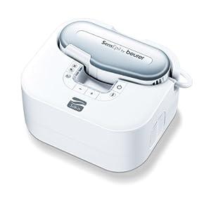 Beurer HL100 SensEpil - Despiladora de luz pulsada, color blanco