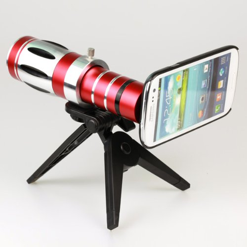 20X Optical Zoom Aluminum Telescope Lens Camera For Samsung Galaxy S3 I9300