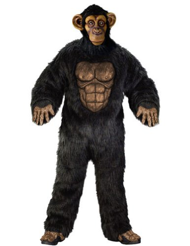 Comical Chimp Adult Adult Mens Costume