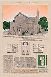 30 x 20 Stretched Canvas Poster Dahler Church