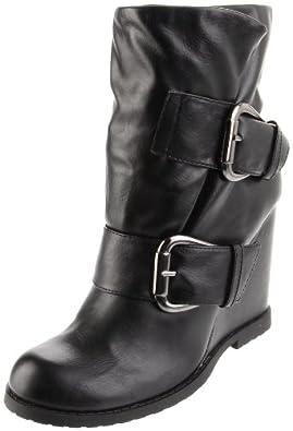 MIA Women's Uma Boot,Black,6.5 M US