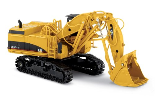 Norscot Cat 365C Front Shovel with metal tracks 1:50 scale