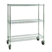 Rubbermaid Commercial ProSave Mobile Rack, Rectangular