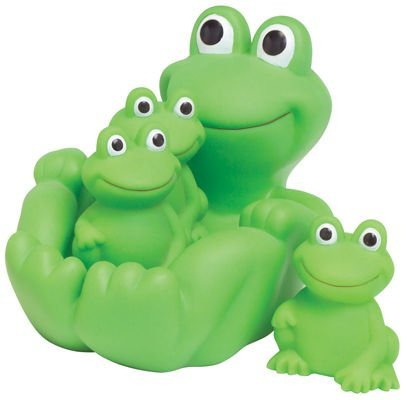 Frog Family Bath Toy - Floating Fun!
