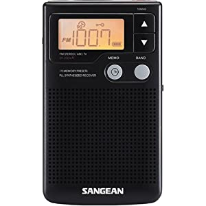 Sangean DT-200X FM-Stereo AM/FM Digital Tuning Personal Receiver