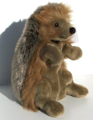 Plüschtier Igel Handpuppe von Uni Toy ca. 30 cm Nr. 185195 Picture