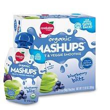 Revolution Foods Blueberry Blitz Organic Mashups