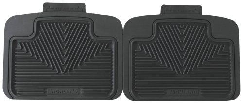 Highland 4503100 All-Weather Gray Back Seat Floor Mat front-66990