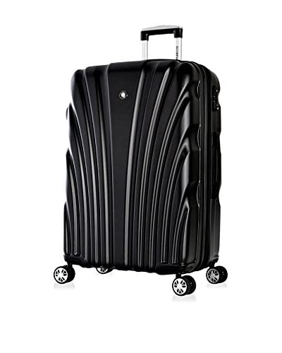 "Olympia Vortex 24"" Mid-Size Hardcase Spinner, Shadow Black"