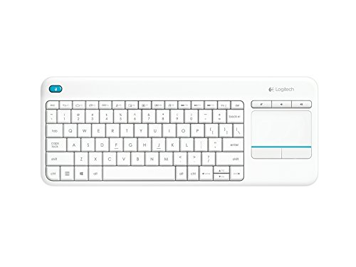 Logitech-K400-Plus-Teclado-inalmbrico-con-TouchPad-QWERTY-Espaol