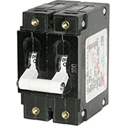 Brand New Blue Sea Systems Blue Sea 7256 C-Series Double Pole Circuit Breaker - 80A