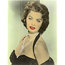 Sophia Loren Poster Photo Color Face Hollywood Movie Star Posters 16x20