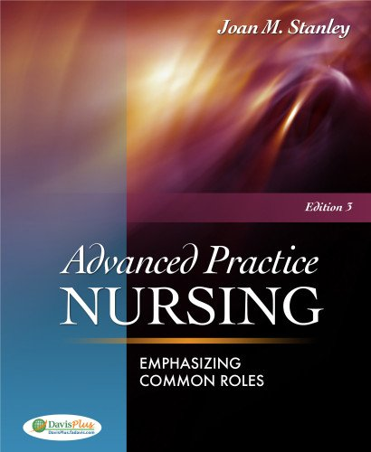 Advanced Practice Nursing: Emphasizing Common Roles