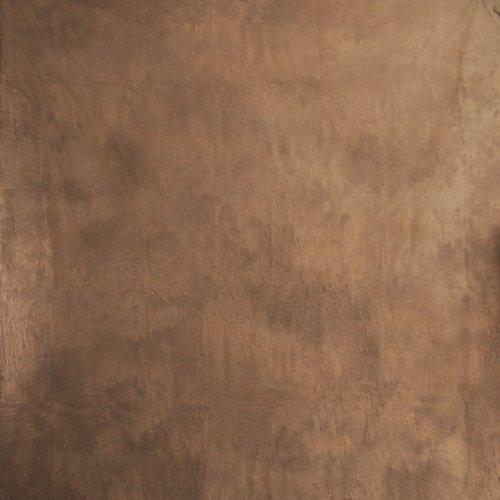 CowboyStudio 100% Cotton Hand Painted 6' X 9' Tie Dye Deep Brown Muslin Photo Backdrop Background