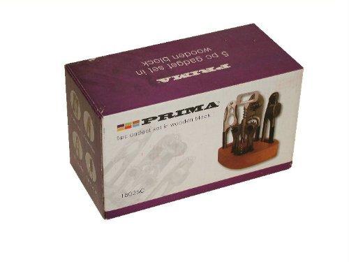 Prima 5 Piece Gadget Set In Wooden Block 18025C