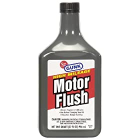 Gunk MF3 High Mileage Motor Flush - 32 fl. oz.