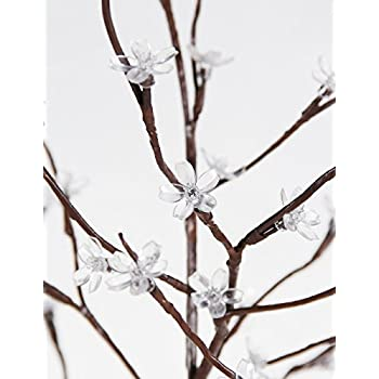 Fashionlite 6-feet 240 led cherry blossom flower tree light decoration(bright white)