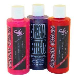 Special Effects Sfx Hair Color Hair Dye Electric Blue from Special Effects