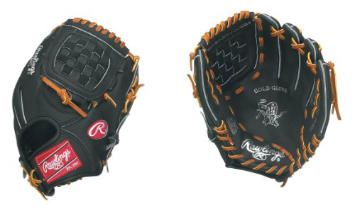 Rawlings PRODJ2 Heart Of The Hide Basket Web Infielder's Pitcher's Right-Handed Throw Baseball Glove (11.5-Inches)