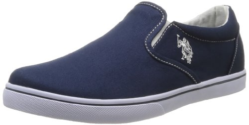 US Polo Assn Men's Gabe Dkbl Trainers Blue Bleu (Dkbl) 41