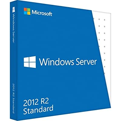 """Microsoft, Windows Server 2012 R2 Standard Box Pack 10 Cals Dvd 64-Bit English """"Product Category: Software/Network Os"""""""