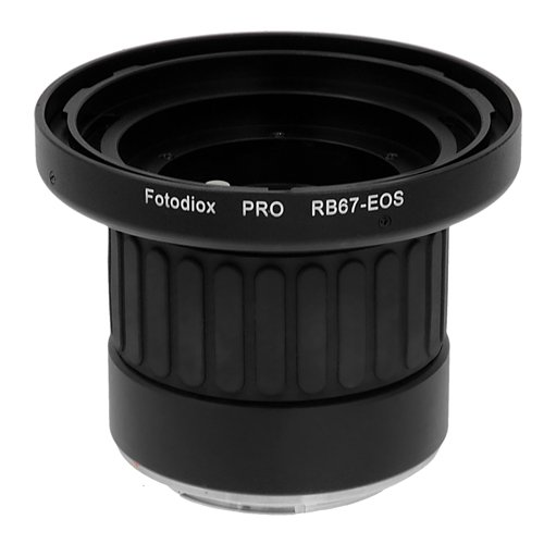 Fotodiox Pro Lens Mount Adapter with Focusing Barrel, for Mamiya RB67 lens to Canon EOS EF-Mount DSLR Cameras