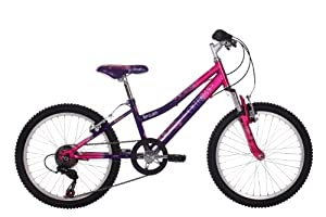 Extreme Girl's Kraze Youth Mountain Bike - Purple/Pink, 20 Inch