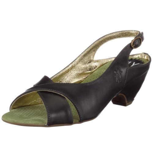 Fly London Women's Fenix Slingback Shoe Antracite P141520005 7 UK