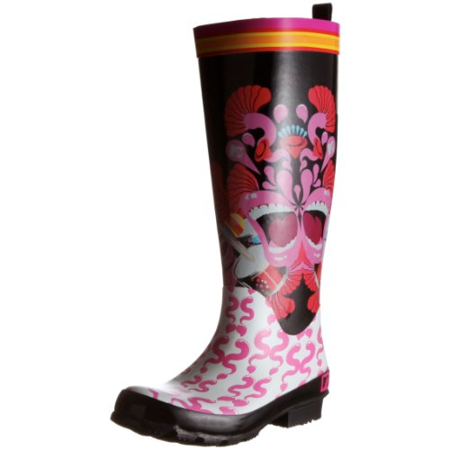 mtv-carnival-botas-de-agua-talla-36-color-negro
