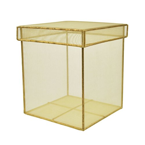 Fine Gold Wired Display Case for the Home or Office (Pack of 2) (Pvc Figure Display Case compare prices)