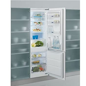 Whirlpool ART471/7A+ Built In Fridge Freezer in White by Whirlpool