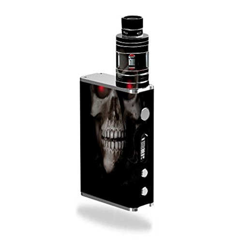 Smok Micro ONE Kit Vape E-Cig Mod Box Vinyl DECAL STICKER Skin Wrap / Glowing Eyes Skull (Micro Vape compare prices)