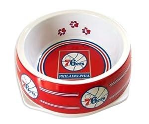 Sporty K9 Philadelphia 76ers Dog Bowl, Large by Sporty K9