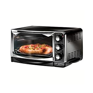 Oster Convection Countertop Oven Amazon : Amazon.com: Oster 6293 6-Slice Convection Toaster Oven, Black: Kitchen ...