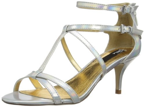 Blink Womens Low Court Fashion Sandals 802044C100 Silver 7 UK, 40 EU