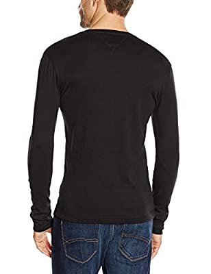Hilfiger Denim Men's Original Rib Long Sleeve T-Shirt
