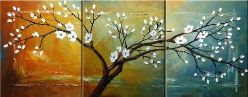 ode-rin-art-christmas-gift-hand-painted-oil-paintings-white-flowers-3-panels-wood-inside-framed-hang